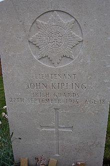 Kipling grave